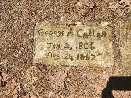 CALLAN, GEORGE ALEXANDER - Yell County, Arkansas | GEORGE ALEXANDER CALLAN - Arkansas Gravestone Photos