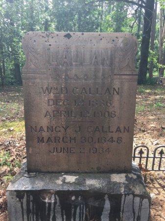 CALLAN, NANCY - Yell County, Arkansas | NANCY CALLAN - Arkansas Gravestone Photos