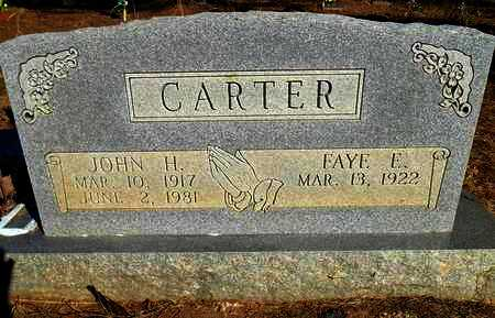 CARTER, JOHN HENRY - Yell County, Arkansas | JOHN HENRY CARTER - Arkansas Gravestone Photos