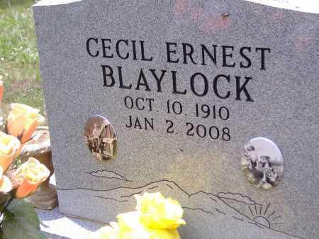 CECIL ERNEST, BLAYLOCK - Yell County, Arkansas   BLAYLOCK CECIL ERNEST - Arkansas Gravestone Photos