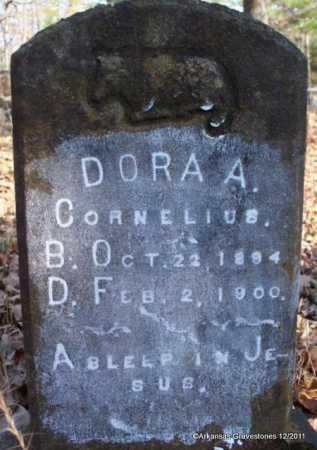 CORNELIUS, DORA A - Yell County, Arkansas   DORA A CORNELIUS - Arkansas Gravestone Photos