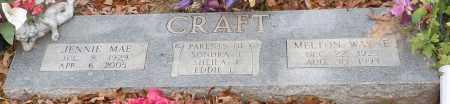 PARKS CRAFT, JENNIE MAE - Yell County, Arkansas   JENNIE MAE PARKS CRAFT - Arkansas Gravestone Photos