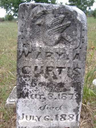 CURTIS, MARY A - Yell County, Arkansas | MARY A CURTIS - Arkansas Gravestone Photos