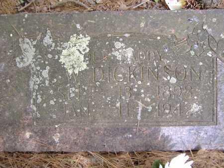 DICKINSON, G W - Yell County, Arkansas | G W DICKINSON - Arkansas Gravestone Photos