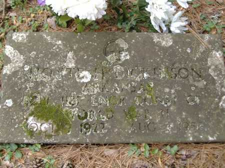 DICKINSON (VETERAN WWII), HOYTE K - Yell County, Arkansas | HOYTE K DICKINSON (VETERAN WWII) - Arkansas Gravestone Photos