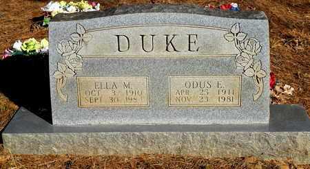 DUKE, ODUS E - Yell County, Arkansas | ODUS E DUKE - Arkansas Gravestone Photos