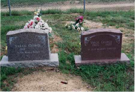 GEORGE, SARAH - Yell County, Arkansas | SARAH GEORGE - Arkansas Gravestone Photos