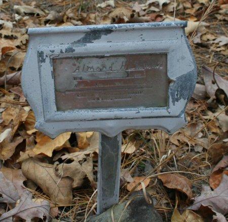HAMMOND, ALMOND PARK - Yell County, Arkansas | ALMOND PARK HAMMOND - Arkansas Gravestone Photos