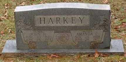 HARKEY, JOHN H - Yell County, Arkansas   JOHN H HARKEY - Arkansas Gravestone Photos