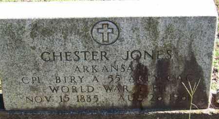 JONES (VETERAN WWI), CHESTER - Yell County, Arkansas   CHESTER JONES (VETERAN WWI) - Arkansas Gravestone Photos