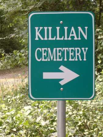 *KILLAN CEMETERY SIGN,  - Yell County, Arkansas    *KILLAN CEMETERY SIGN - Arkansas Gravestone Photos
