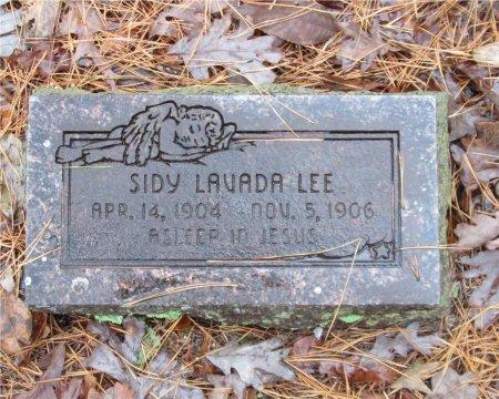 LEE, SIDY LAVADA - Yell County, Arkansas | SIDY LAVADA LEE - Arkansas Gravestone Photos