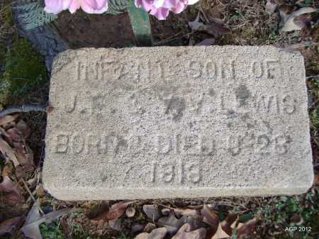 LEWIS, INFANT SON - Yell County, Arkansas | INFANT SON LEWIS - Arkansas Gravestone Photos