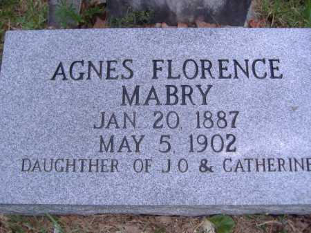 MABRY, AGNES FLORENCE - Yell County, Arkansas | AGNES FLORENCE MABRY - Arkansas Gravestone Photos