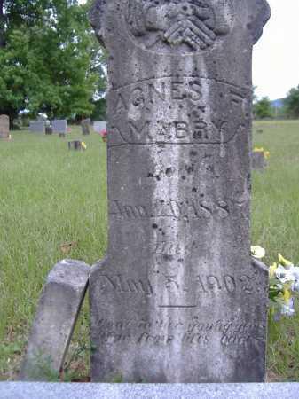MABRY, AGNES FLORENCE (ORIGINAL STONE) - Yell County, Arkansas | AGNES FLORENCE (ORIGINAL STONE) MABRY - Arkansas Gravestone Photos