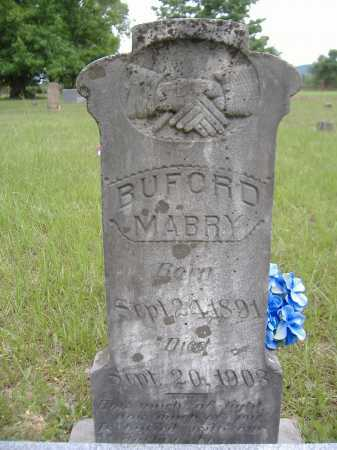 MABRY, BUFORD BENJAMIN W (ORIGINAL STONE) - Yell County, Arkansas | BUFORD BENJAMIN W (ORIGINAL STONE) MABRY - Arkansas Gravestone Photos