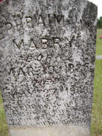 MABRY, EPHRAIM W - Yell County, Arkansas   EPHRAIM W MABRY - Arkansas Gravestone Photos
