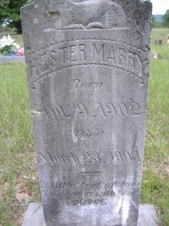 MABRY, HESTER - Yell County, Arkansas | HESTER MABRY - Arkansas Gravestone Photos