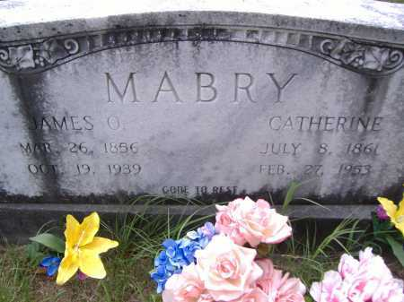 MABRY, CATHERINE - Yell County, Arkansas | CATHERINE MABRY - Arkansas Gravestone Photos