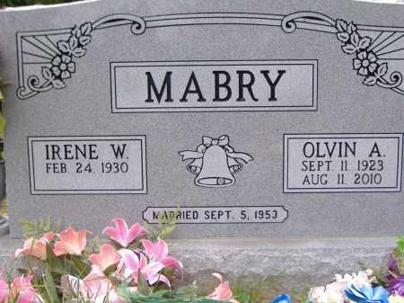 MABRY, OLVIN A - Yell County, Arkansas   OLVIN A MABRY - Arkansas Gravestone Photos