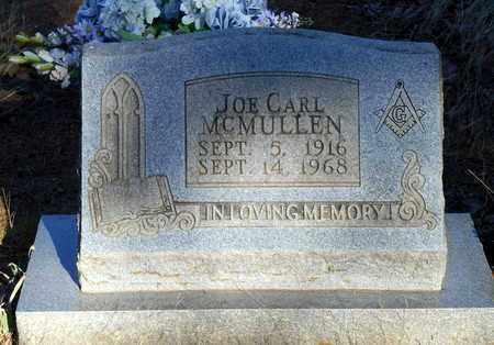 MCMULLEN, JOE CARL - Yell County, Arkansas | JOE CARL MCMULLEN - Arkansas Gravestone Photos