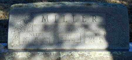 MILLER, NETTIE - Yell County, Arkansas | NETTIE MILLER - Arkansas Gravestone Photos