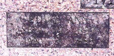 MILLNER, ETHEL ANN (CLOSE UP) - Yell County, Arkansas | ETHEL ANN (CLOSE UP) MILLNER - Arkansas Gravestone Photos