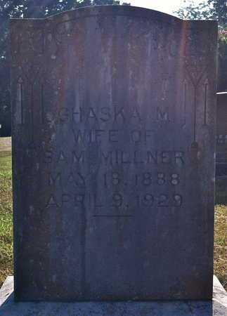 MILLNER, GHASKA M (CLOSE UP) - Yell County, Arkansas | GHASKA M (CLOSE UP) MILLNER - Arkansas Gravestone Photos