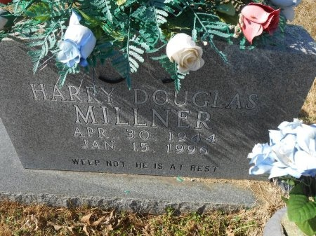 MILLNER, HARRY DOUGLAS - Yell County, Arkansas | HARRY DOUGLAS MILLNER - Arkansas Gravestone Photos