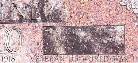 "MILLNER, MADISON ""MATT"" (CLOSE UP) - Yell County, Arkansas | MADISON ""MATT"" (CLOSE UP) MILLNER - Arkansas Gravestone Photos"