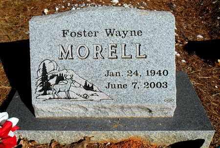 MORELL, FOSTER WAYNE - Yell County, Arkansas | FOSTER WAYNE MORELL - Arkansas Gravestone Photos