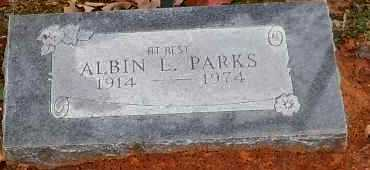 PARKS, ALBIN L - Yell County, Arkansas | ALBIN L PARKS - Arkansas Gravestone Photos