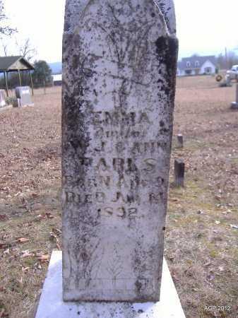 PARKS, EMMA - Yell County, Arkansas   EMMA PARKS - Arkansas Gravestone Photos