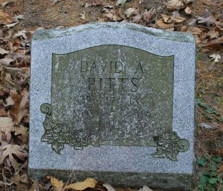 PITTS, DAVID A. - Yell County, Arkansas | DAVID A. PITTS - Arkansas Gravestone Photos