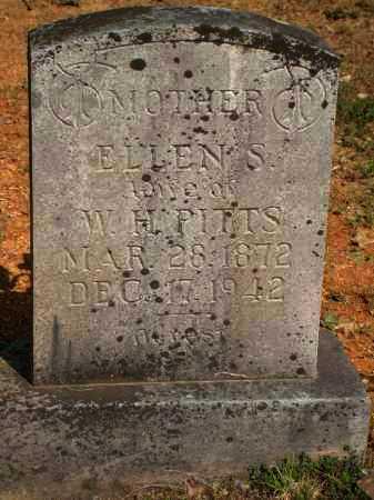 PITTS, ELLEN S - Yell County, Arkansas   ELLEN S PITTS - Arkansas Gravestone Photos