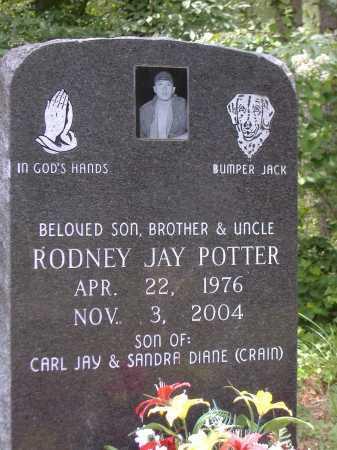 POTTER, RODNEY JAY - Yell County, Arkansas | RODNEY JAY POTTER - Arkansas Gravestone Photos