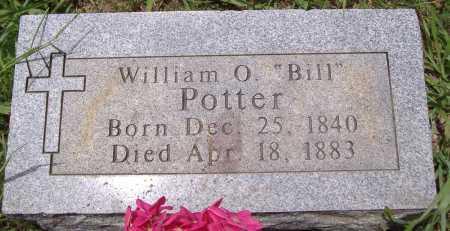 "POTTER, WILLIAM O ""BILL"" - Yell County, Arkansas | WILLIAM O ""BILL"" POTTER - Arkansas Gravestone Photos"