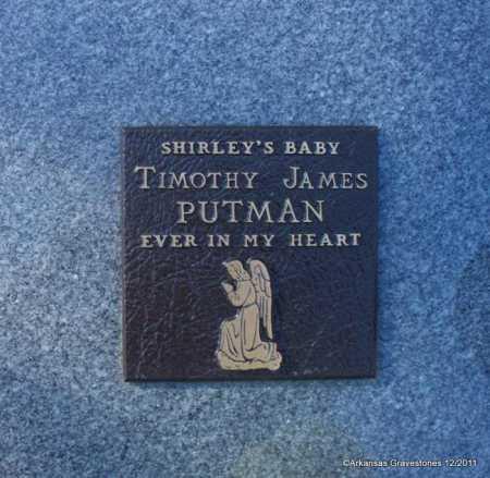 PUTMAN, TIMOTHY JAMES - Yell County, Arkansas   TIMOTHY JAMES PUTMAN - Arkansas Gravestone Photos