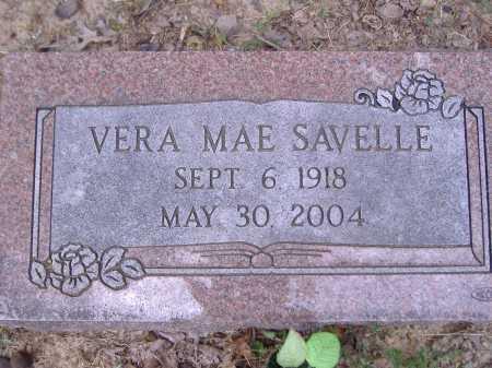 SAVELLE, VERA MAE - Yell County, Arkansas | VERA MAE SAVELLE - Arkansas Gravestone Photos