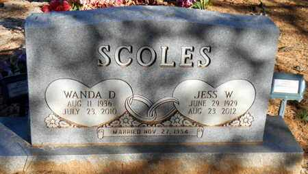 SCOLES, WANDA D - Yell County, Arkansas | WANDA D SCOLES - Arkansas Gravestone Photos