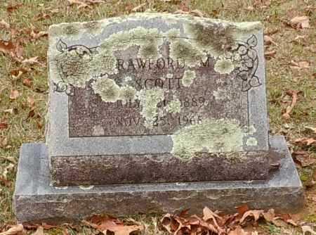 SCOTT, CRAWFORD M - Yell County, Arkansas | CRAWFORD M SCOTT - Arkansas Gravestone Photos