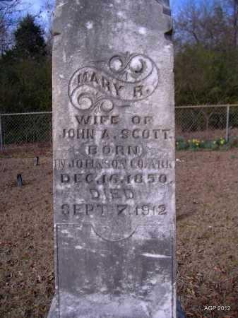 SCOTT, MARY A - Yell County, Arkansas | MARY A SCOTT - Arkansas Gravestone Photos