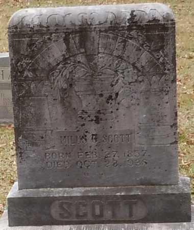 SCOTT, MILUS CRAWFORD - Yell County, Arkansas | MILUS CRAWFORD SCOTT - Arkansas Gravestone Photos