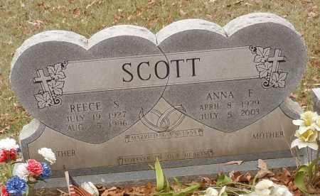 HOLLAND SCOTT, ANNA FAYE - Yell County, Arkansas | ANNA FAYE HOLLAND SCOTT - Arkansas Gravestone Photos