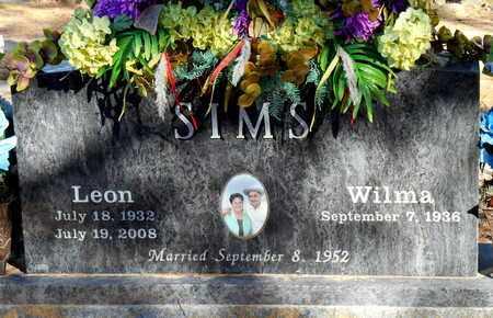 SIMS, LEON - Yell County, Arkansas   LEON SIMS - Arkansas Gravestone Photos