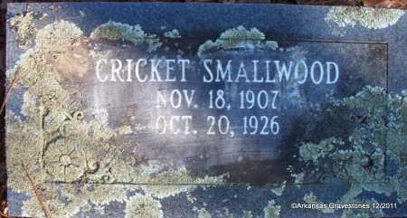 SMALLWOOD, CRICKET - Yell County, Arkansas   CRICKET SMALLWOOD - Arkansas Gravestone Photos