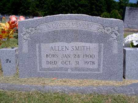 SMITH, ALLEN - Yell County, Arkansas | ALLEN SMITH - Arkansas Gravestone Photos