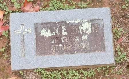 SMITH, ALICE - Yell County, Arkansas | ALICE SMITH - Arkansas Gravestone Photos