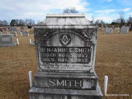 SMITH, BENJAMIN E - Yell County, Arkansas | BENJAMIN E SMITH - Arkansas Gravestone Photos