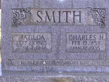 SMITH, CHARLES HERBERT - Yell County, Arkansas | CHARLES HERBERT SMITH - Arkansas Gravestone Photos
